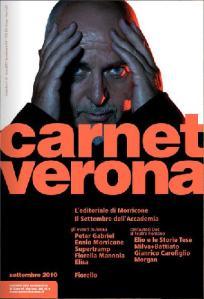 Carnet Verona set 2010