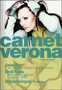 Carnet Verona di novembre 2010