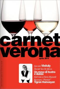 Carnet Verona di aprile 2011