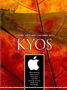 Kyos Verona di ottobre, novembre e dicembre 2011