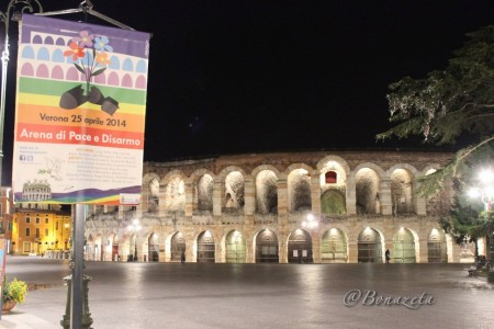 Arena di Verona (foto Bonazeta - aprile 2014)