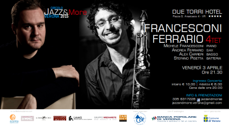 Ferrario & Francesconi quartet